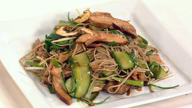 Teriyaki chicken with soba noodle salad : Australian Women ...