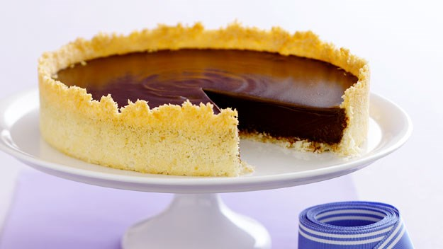 Rich chocolate coconut tart recipe | Australian Women's Weekly