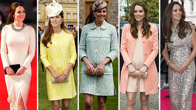 Duchess of dresses: Kate's best frocks for 2013