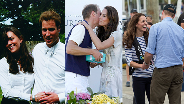 William and Kate's adorable PDAs