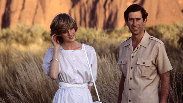 Charles and Diana's trip to Uluru