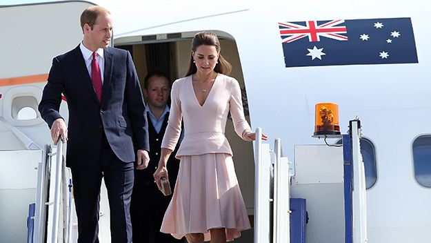 Royals visit Adelaide for a day
