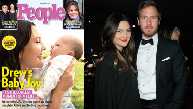Meet Drew Barrymore's little miracle