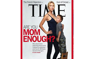The <i>Time</i> cover that sparked debate.