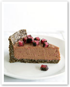 Cherry Ripe cheesecake