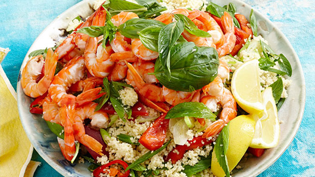 Lemon Prawn Couscous