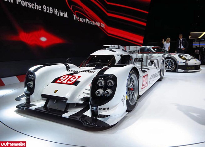 Webber Takes Delivery Of Porsche 39 S Fast Four Wheels