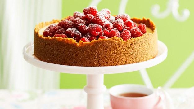 White Choc Raspberry Cheesecake : Dessert Recipes : Australian Women's ...