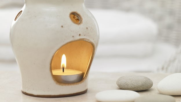 Less stress with aromatherapy