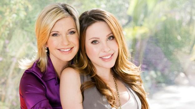 Olivia Newton-John and her daughter Chloe Lattanzi