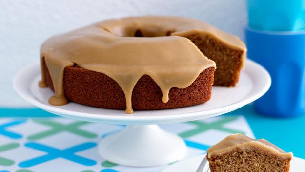 Divine ginger cake with caramel icing recipe   Australian Women's ...