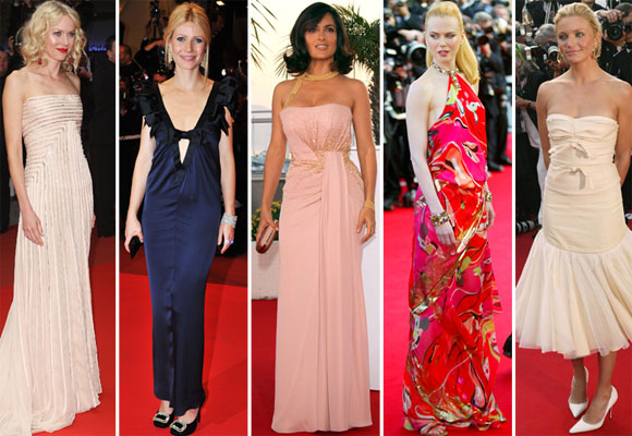 The Cannes Film Festival fashion hall of fame