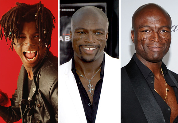 Can you believe Seal used to look like this?