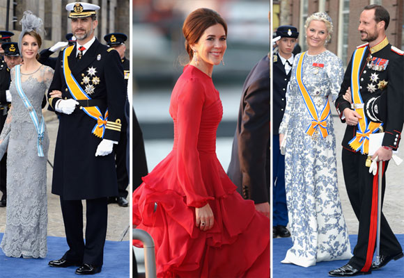 World's royals gather for Dutch King's coronation
