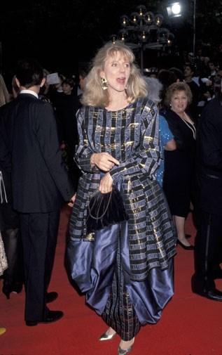 Blythe Danner looking voluminous in 1993.