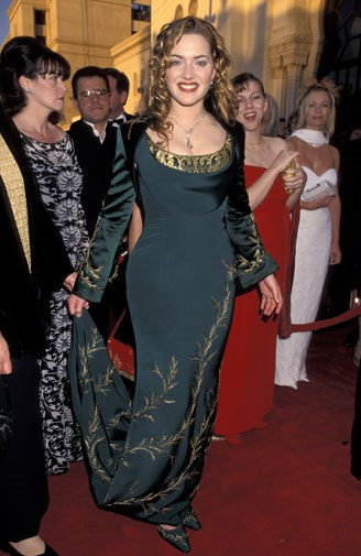 Kate Winslet looking like Maid Marion in 1998.