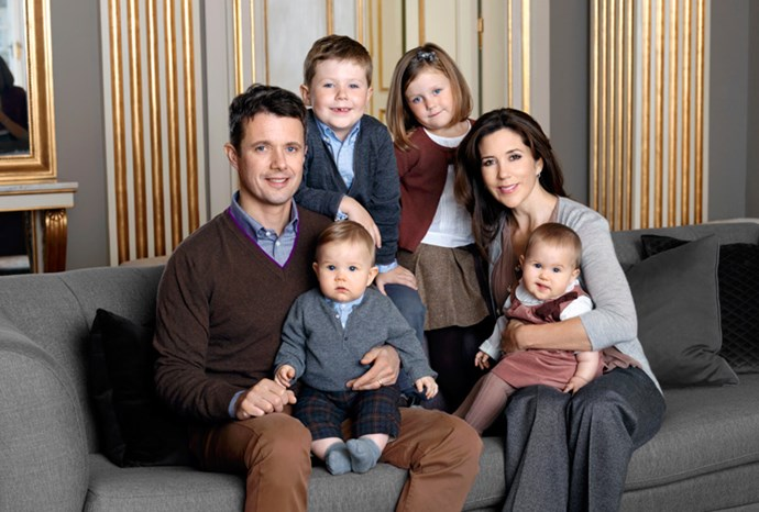 A family portrait released in November 2011.