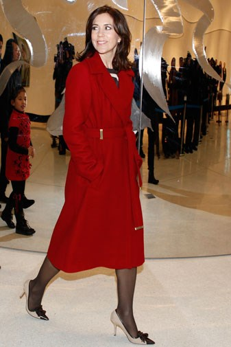Mary in China in December 2012.