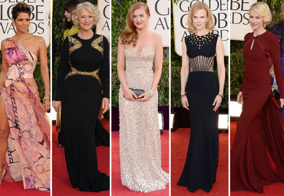 Best-dressed at the 2013 Golden Globes