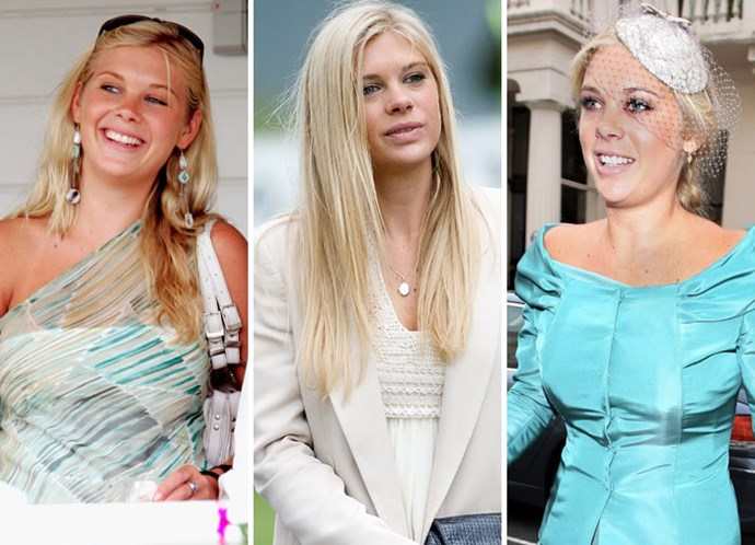 Prince Harry's on/off love Chelsy Davy in 2006, 2010 and at the royal wedding in April 2011.