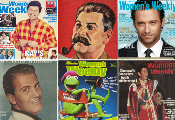 Men of The Weekly: Our favourite cover-blokes