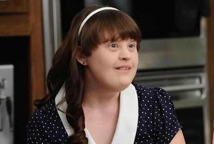 Jamie Brewer from *American Horror Story*.