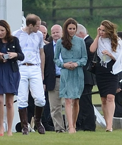 William and Catherine seemed relaxed and happy in each other's company.