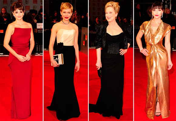 Best-dressed at the BAFTAs