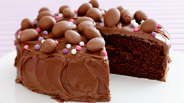 Chocolate Easter Cake Images : Chocolate easter cake recipe Australian Women s Weekly