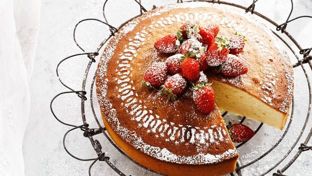 Lemon sour cream cake recipe   Australian Women's Weekly