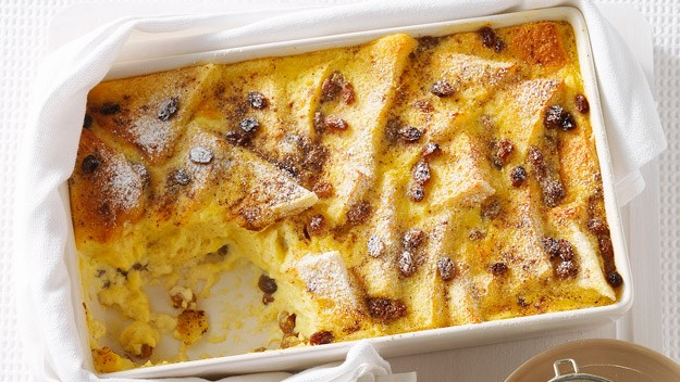Bread and butter pudding recipe | FOOD TO LOVE