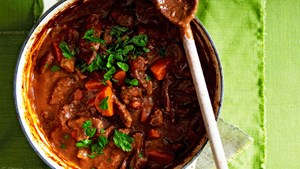 Traditional beef casserole