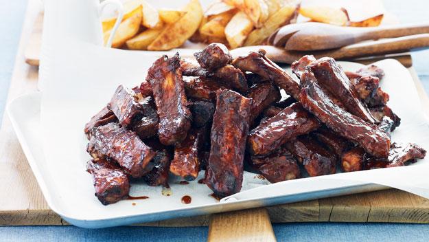 Recipe for american pork ribs