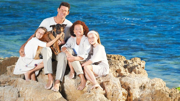 Our family was marooned on a tiny island for five months