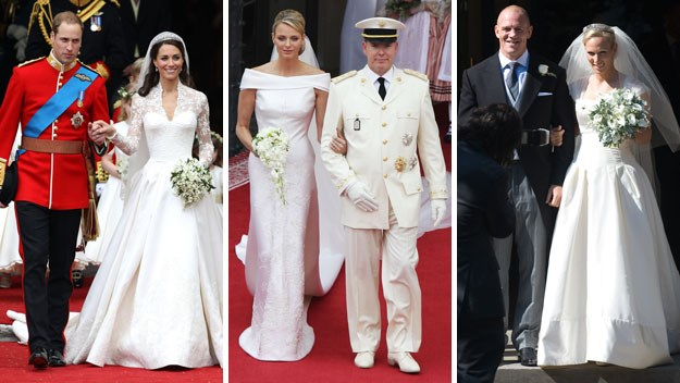 Kate, Zara or Charlene: Which royal bride wore it best?