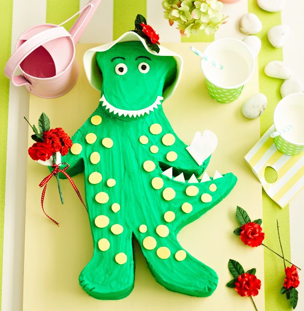 Dorothy the dinosaur cake recipe Food To Love