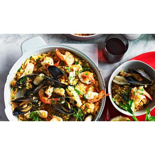 Seafood Risotto Recipes Food Network