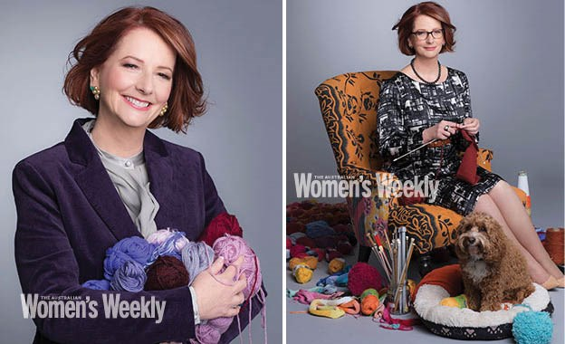 Julia Gillard: Why she's knitting for the royal baby