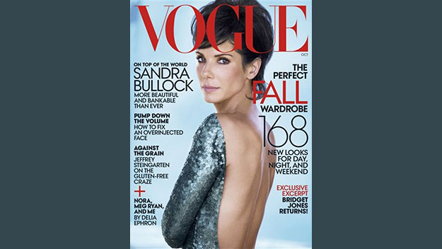 Sandra Bullock: Why I don't look back