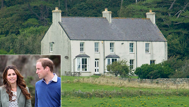 First look inside William and Kate's Welsh hideaway