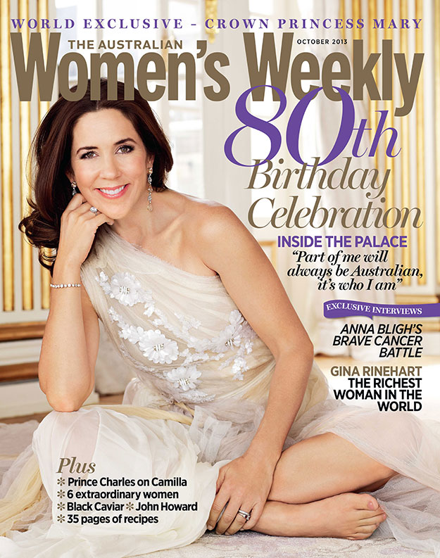 Crown Princess Mary: Our October cover girl