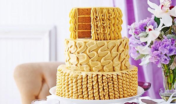 Salted caramel celebration cake