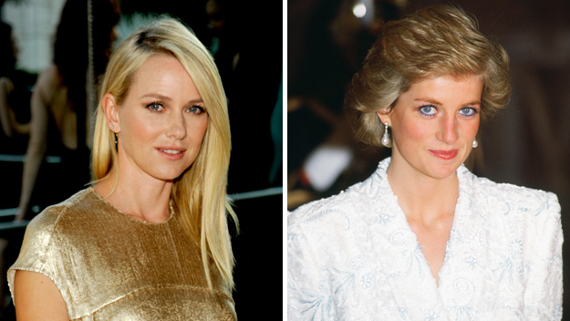 Naomi Watts 'terrified' of playing Princess Diana