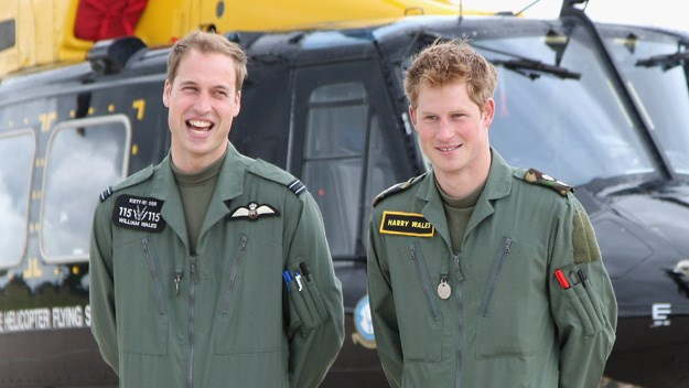 Top gun: Prince Harry graduates head of his class
