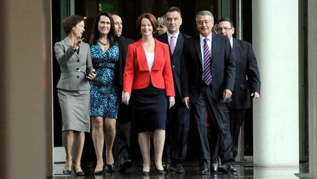 Julia Gillard defeats Kevin Rudd