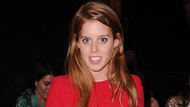 Princess Beatrice at the Elie Saab show