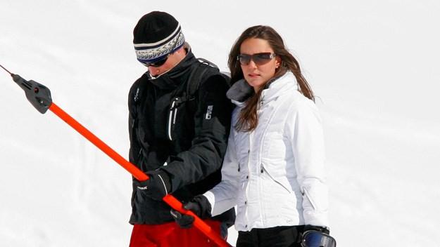 William whisks Kate away for romantic ski break