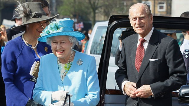 Prince Philip asks man on mobility scooter: 'How many people have you knocked over this morning on that thing?'