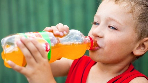 Fizzy drinks bad for kids' hearts