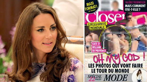 Royal scandal: Magazine to print topless photos of Kate